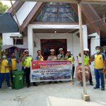 Bakti Sosial Dalam Rangka HUT Ke - 64 Tahun Lalu Lintas Bhayangkara di Kepulauan Anambas
