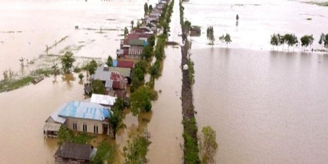 Banjir Kalsel, 5 Jenazah Ditemukan di Hulu Sungai Tengah & Korban Hanyut