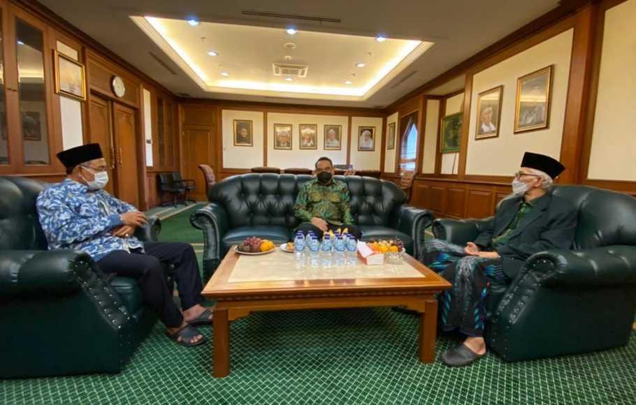 Bertemu Ketua MUI, Syafruddin Bahas Perkembangan Islam di Tanah Air dan Dunia