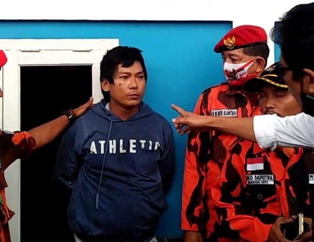 Inilah Tampang Pria Penyebab Kebakaran 18 Rumah di Palembang, Begini Pengakuannya