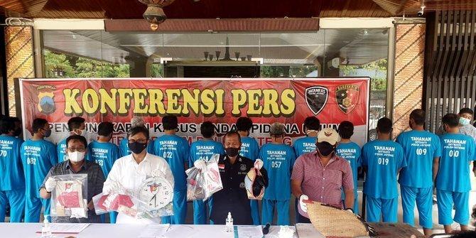 Di Jateng Berjudi dan Picu Kerumunan dari 7 Lokasi Judi, 16 Orang Ditangkap