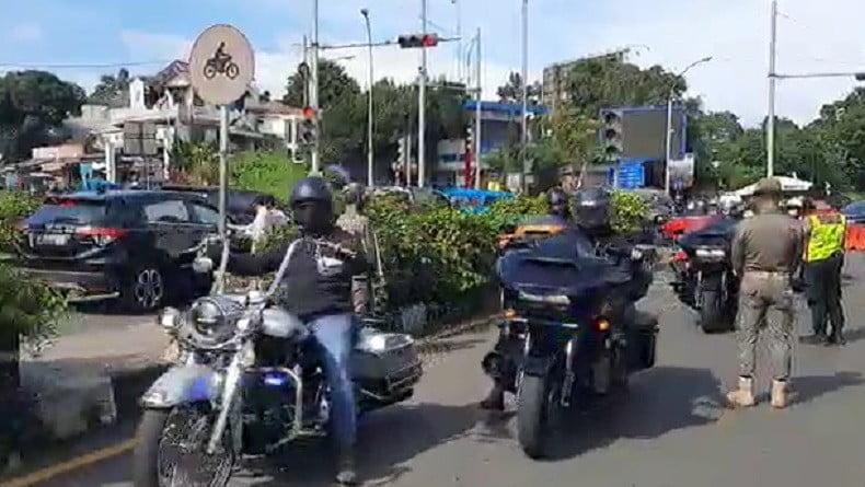Rombongan Moge Terobos Aturan Ganjil Genap di Kota Bogor, Ini Kata Harley Davidson Club