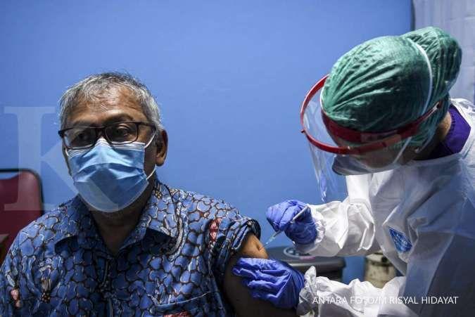 Tanggapi Usulan Door to Door, Satgas: Vaksinasi Covid-19 untuk Lansia Hanya Dilakukan di Faskes