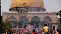 Usai Umumkan Gencatan Senjata, Bentrok Israel dan Warga Palestina di Masjid Al Aqsa