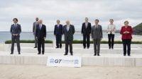 Pengunjuk Rasa Pro-Palestina Serukan G7 Akhiri Kerja Sama dengan Israel
