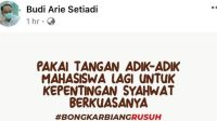 Demokrat Dituding Buzzer Terlibat Aksi 'Jokowi End Game'