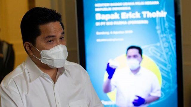 Erick Thohir Sambut Positif Kolaborasi Pertamina-ExxonMobil Solusi di Tengah Transisi Energi
