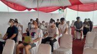 Puluhan TKA Tenaga Ahli PLTU di Serang Terima Vaksinasi Covid-19